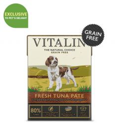 Vitalin Fresh Tuna Pate Dog Wet Food