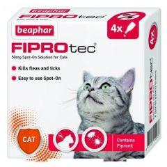 Beaphar Fiprotec for Cat 4 Vials