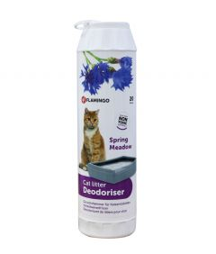 Flamingo Cat Litter Deo Spring Meadow