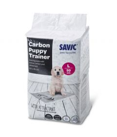 Savic Carbon Puppy Trainer Pads 50 pack