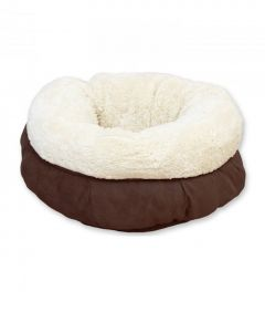 All for Paws Lambswool Donut Cat Bed