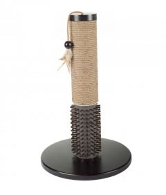 All for Paws Mochachino Scratching Post w/ Rubber