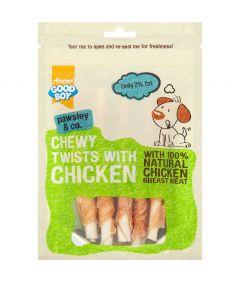 Armitage Good Boy Chewy Twist with Chicken Dog Treats