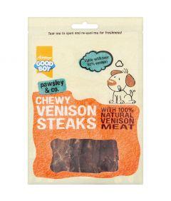 Armitage Good Boy Chewy Venison Steaks Dog Treats