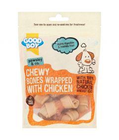 Armitage Good Boy Chewy Chicken Wrap Bone Mini 7pc