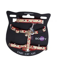 Bobby Lovely Cat Harness and Lead