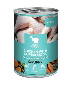 Billy & Margot Puppy Chicken with Superfoods Canned Wet Dog Food