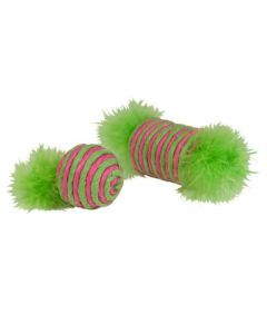 Kylie's Brite Rafia Feathered Spool and Ball