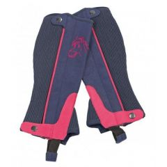 Busse Solid-JR Short Chaps Navy