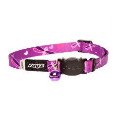 Rogz Kiddycat Collar Purple Dragonfly