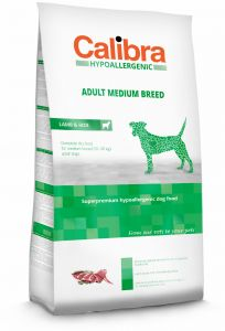 Calibra Dog Hypoallergenic Adult Medium Lamb