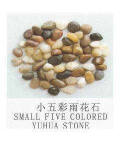 Dymax Small Five Colour Yuhua Aquarium Stones