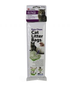 Flamingo Cat Litter Bags Dixi Mega (10 bags)