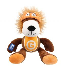 GiGwi Agent Gigwi Lion Plush and Tennis Ball Toy
