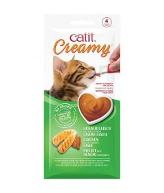 Catit Creamy Chicken with Lamb Cat Treats