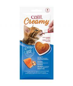 Catit Creamy Atlantic Salmon with Prawns Cat Treat