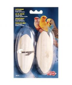 Living World Cuttlebone White TwinPack