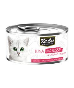 Kit Cat Tuna Mousse and Chicken Topper Wet Food