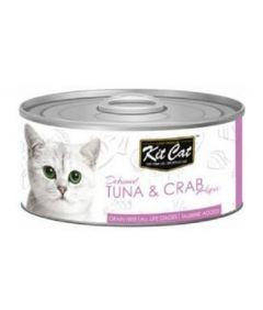 Kit Cat Tuna & Crab Cat Wet Food