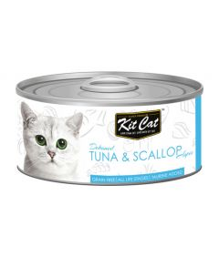 Kit Cat Tuna and Scallop Cat Wet Food