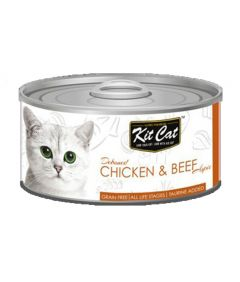 Kit Cat Chicken & Beef Cat Wet Food