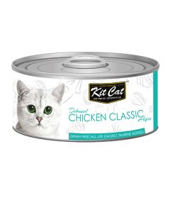 Kit Cat Chicken Classic Cat Wet Food