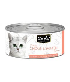 Kit Cat Chicken & Salmon Toppers Cat Wet Food