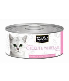 Kit Cat Chicken & Whitebait Toppers Cat Wet Food