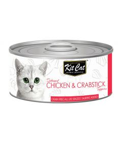 Kit Cat Chicken & Crabstick Toppers Cat Wet Food
