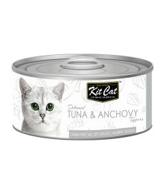 Kit Cat Tuna & Anchovy Toppers Cat Wet Food