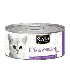 Kit Cat Tuna & Whitebait Toppers Cat Wet Food