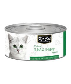 Kit Cat Tuna & Shrimp Toppers Cat Wet Food
