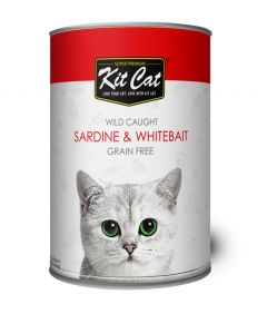 Kit Cat Sardine & Whitebait Wet Food