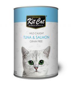 Kit Cat Tuna & Salmon Wet Food