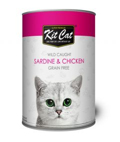 Kit Cat Sardine & Chicken Wet Food