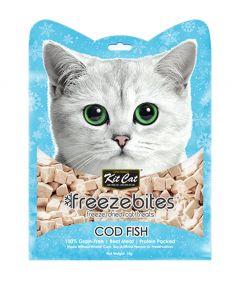 Kit Cat Freezebites Dried Codfish Cat Treats
