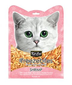 Kit Cat Freezebites Dried Shrimp Cat Treats