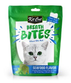 Kit Cat Breath Bites Seafood Flavor Cat Treats