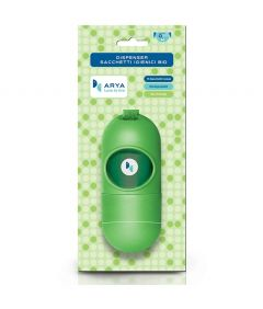 Arya Poo Bags Dispenser with Refill of 15 Bags