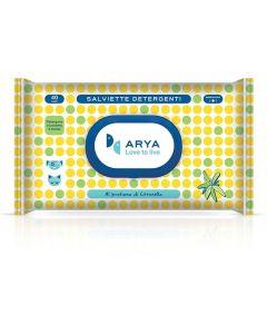 Arya Wet Wipes Lemongrass