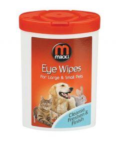 Mikki Eye Wipes for Dog & Cat
