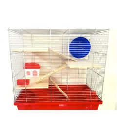 MPS2 H12 Hamster Cage with Wood Accessories