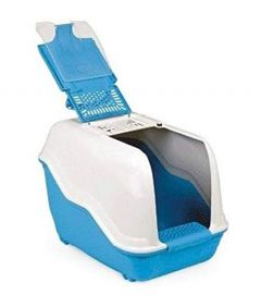 MPS2 Netta Cat Closed Toilet Litter Box