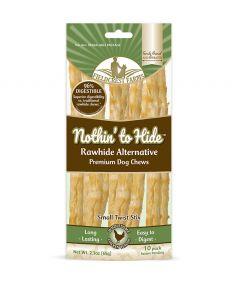 Nothin To Hide Twist Stix Chicken Chew Dog Treats