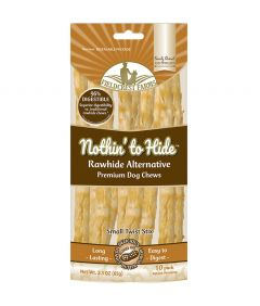 Nothin To Hide Twist Stix Peanut Butter Chew Dog Treats