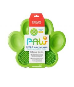 PetDreamHouse PAW 2-in-1 Slow Feeder & Lick Pad