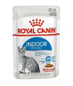Royal Canin FHN Indoor in Gravy Cat Wet Food