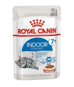 Royal Canin FHN Indoor 7+ in Gravy Cat Wet Food