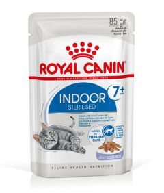 Royal Canin FHN Indoor 7+ in Jelly Cat Wet Food