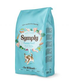 Symply Puppy Fuel Fresh Turkey Dry Dog Food